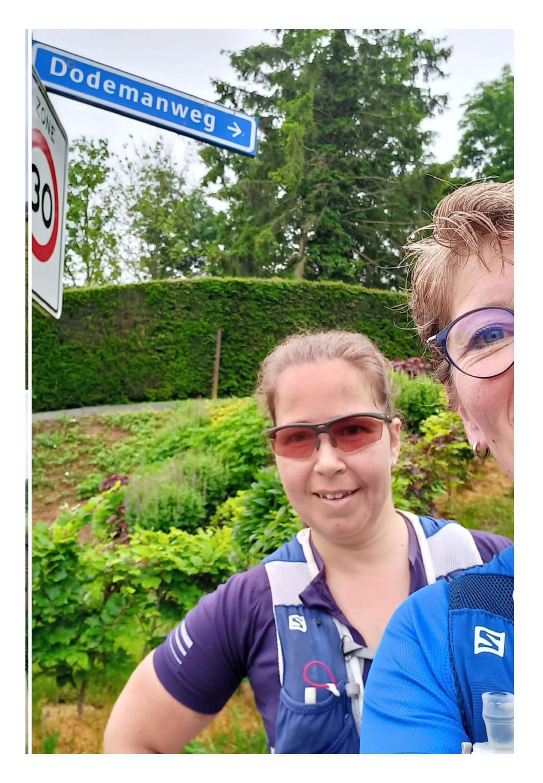Dodeman, Grenslaup Vosseven, Halve Marathon, Lopen.