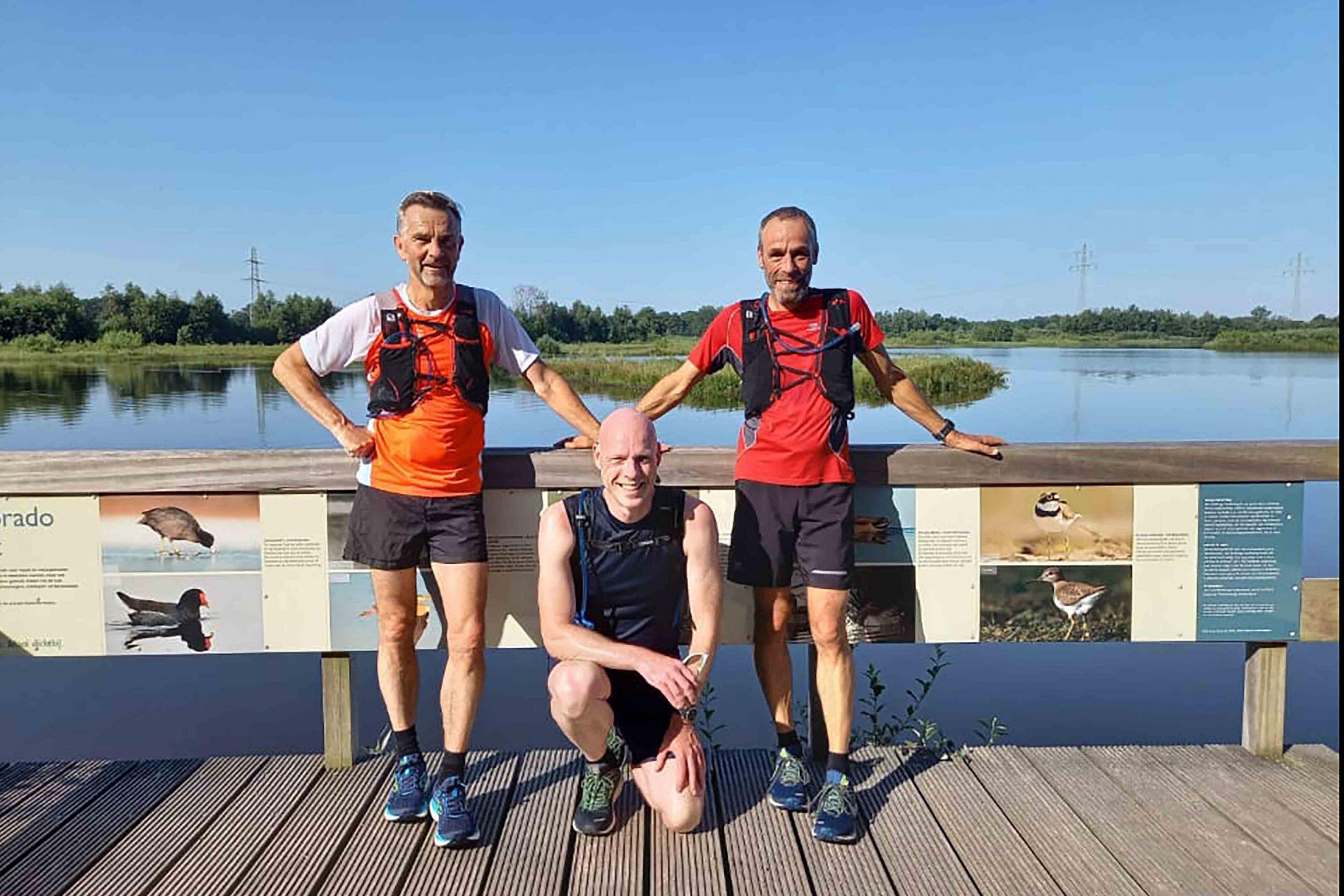 Water, veel water was er én de Rotterdam marathon komt er aan