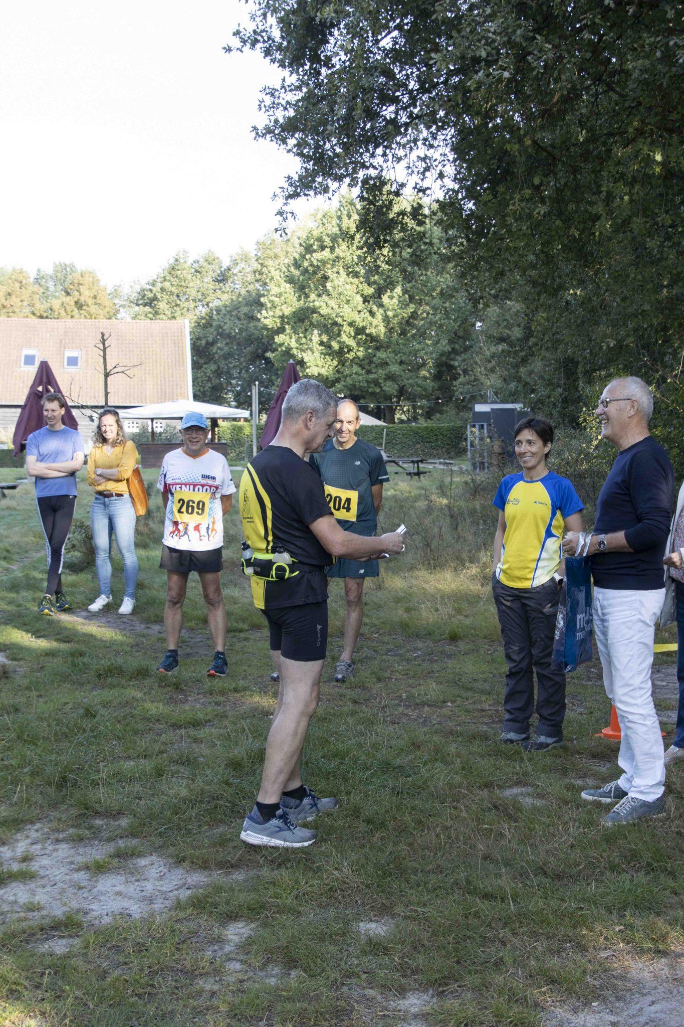 Leuk weekend met bijscholing, 100e deelname en Leudalbosloop