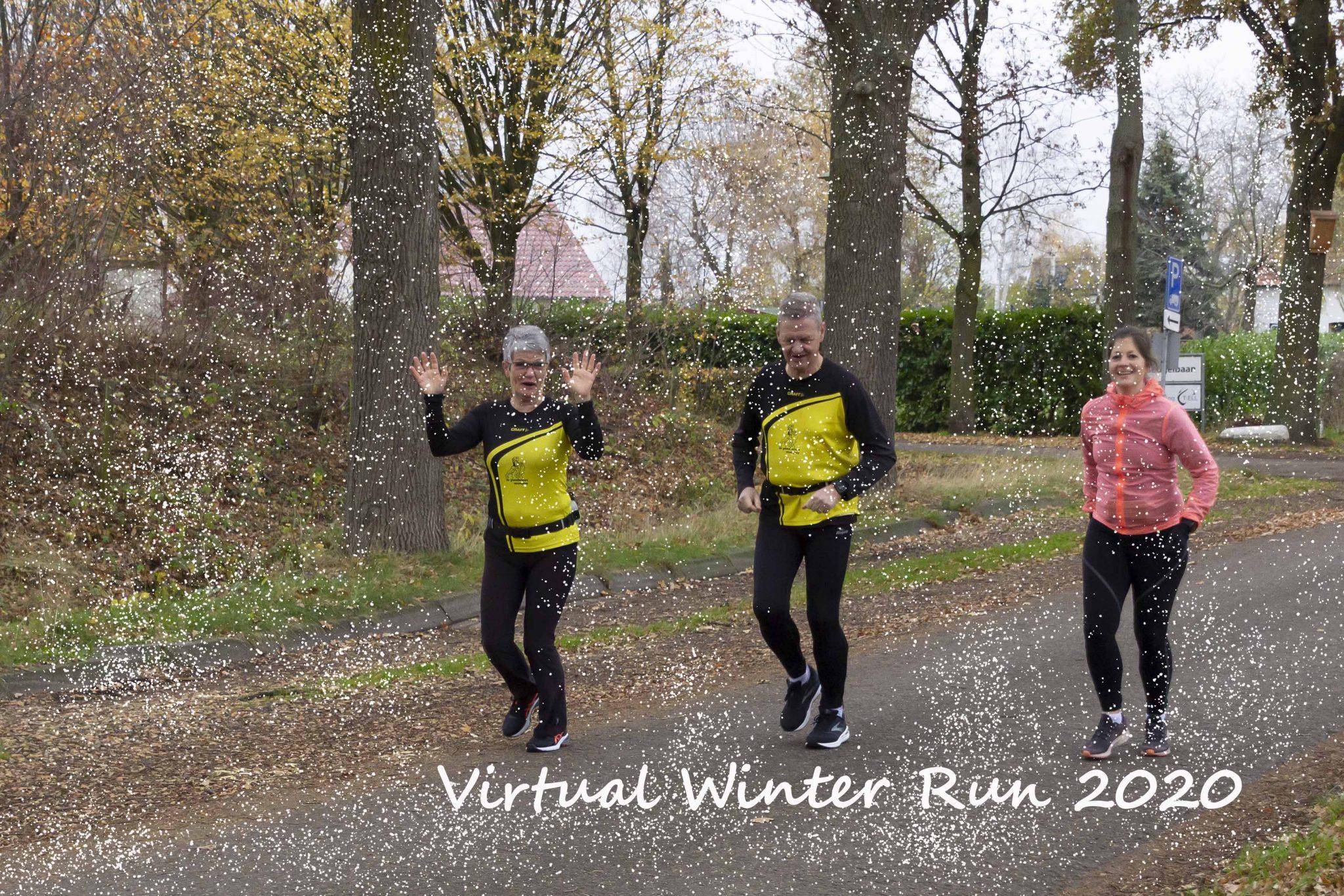 Virtuele winter run 2020